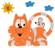 DoDo Dětská lampička kočka