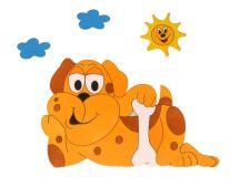 DoDo Dětská lampička pes
