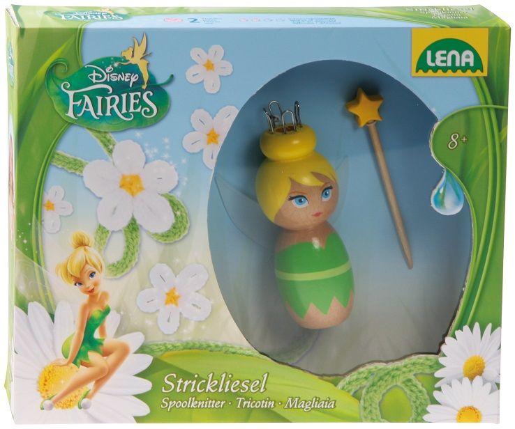 Dřevěné hračky Lena Disney víla k pletení