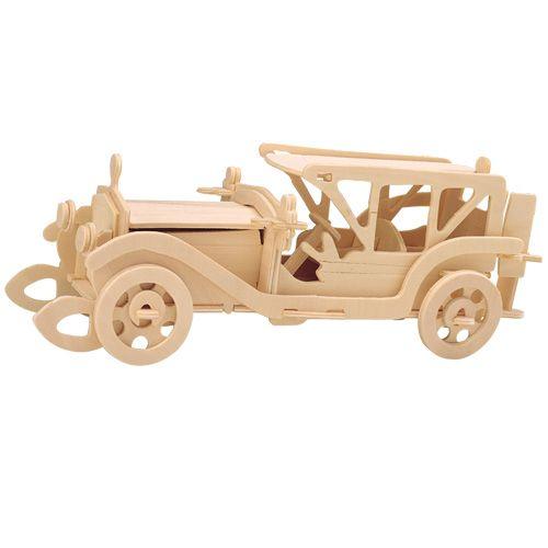 Dřevěné hračky Woodcraft Dřevěné 3D puzzle sumbeam P017 Woodcraft construction kit