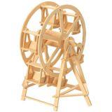 Woodcraft Dřevěné 3D puzzle kolotoč ruské kolo