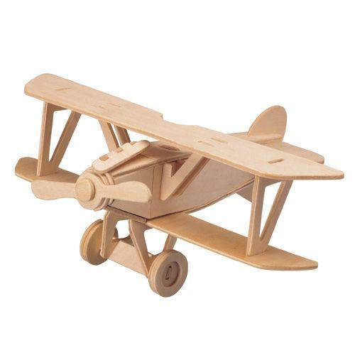 Dřevěné hračky Woodcraft Dřevěné 3D puzzle albatros Woodcraft construction kit