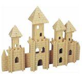 Dřevěné skládačky 3D puzzle slavné budovy - Zámek P106