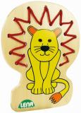 Navlékací obrázek, lev
