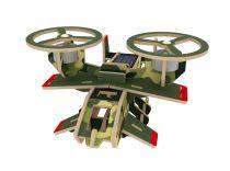 RoboTime - Vojenské solární letadlo Avatar - P350S barevné