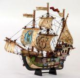 Sestavený dřevěný model lodě Santa Maria 400x450 mm