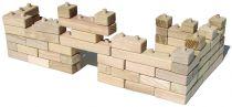Ceeda Cavity - dřevěná stavebnice - Kostky volné 64 kusů