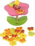 Dřevěné hračky - motorické hračky - Balancující květina