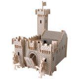Woodcraft Dřevěné 3D puzzle hrad I