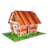 Woodcraft Dřevěné 3D puzzle lidový dům