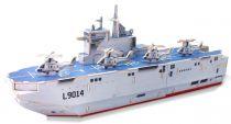 Robotime dřevěná skládačka - Vrtulníková útočná loď Mistral