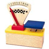 Santoys dřevěné hračky - dětská kuchyňská váha
