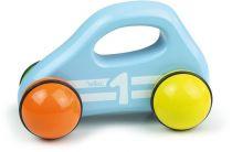 Dřevěná hračka Vilac - Dřevěné autíčko do ruky modré