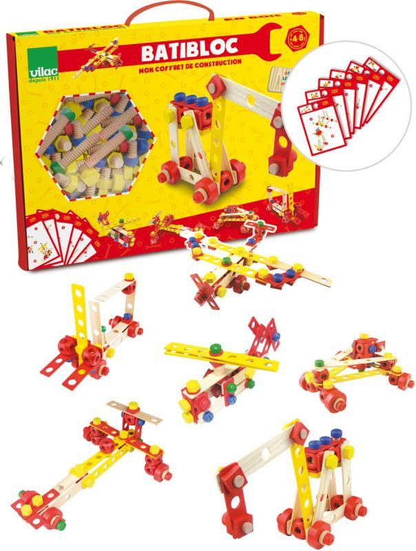 Dřevěné hračky Vilac Stavebnice Batibloc
