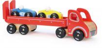 Vilac dřevěné nákladní auto se závodními auty