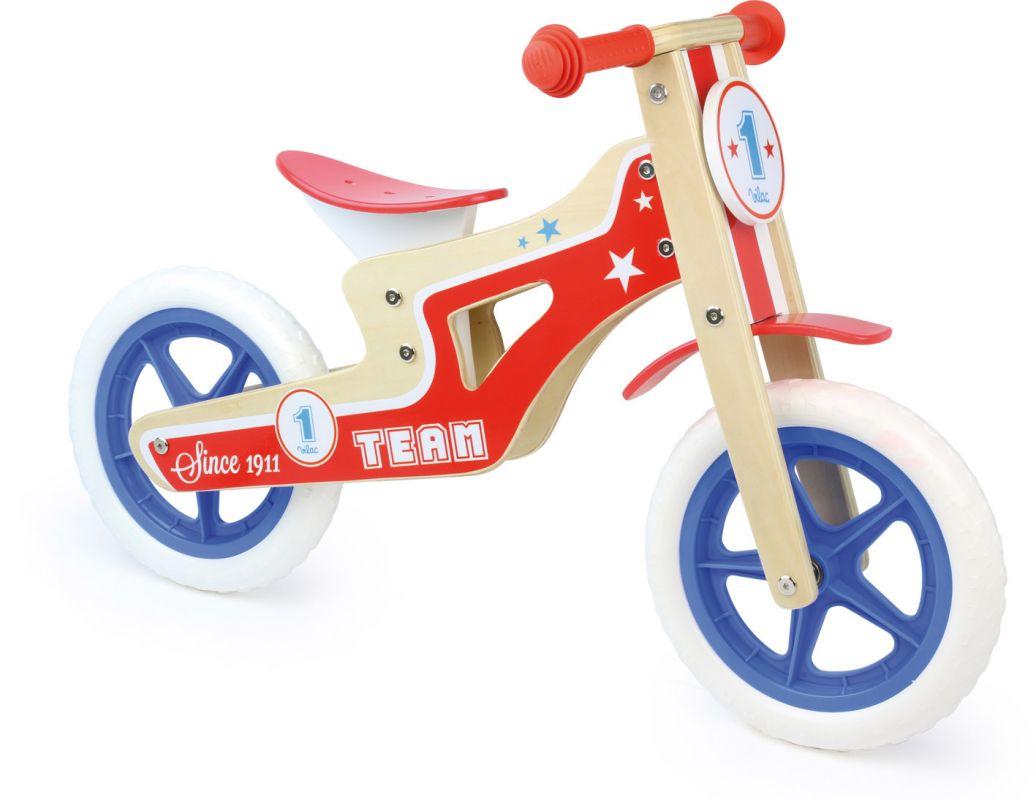 Dřevěné hračky Vilac Odrážedlo kolo Team One