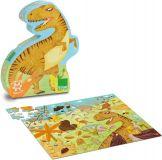 Vilac - Dřevěné puzzle Dinosaurus 100 dílků