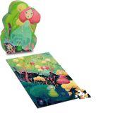 Vilac - Dřevěné puzzle - Mořská víla 150 dílků