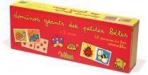 Dřevěné hračky Vilac dřevěné velké oboustranné domino