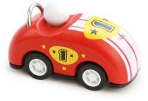Dřevěné hračky Vilac Dřevěné závodní auto kabriolet na natahování