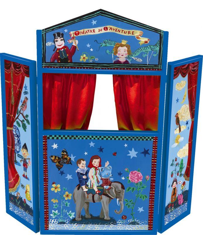 Dřevěné hračky Vilac Divadlo Dobrodružství