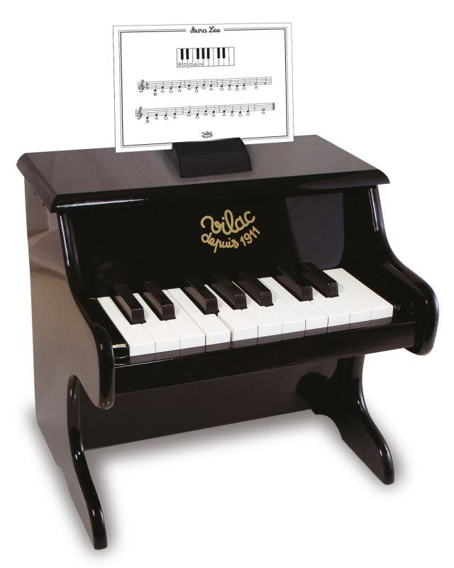 Dřevěné hračky Vilac Klavír černý