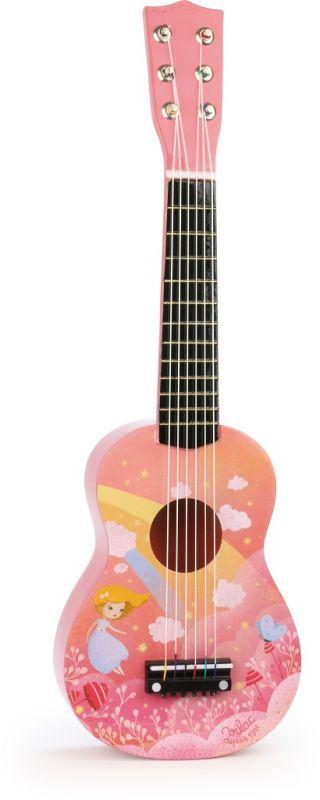 Dřevěné hračky Vilac Kytara Rainbow