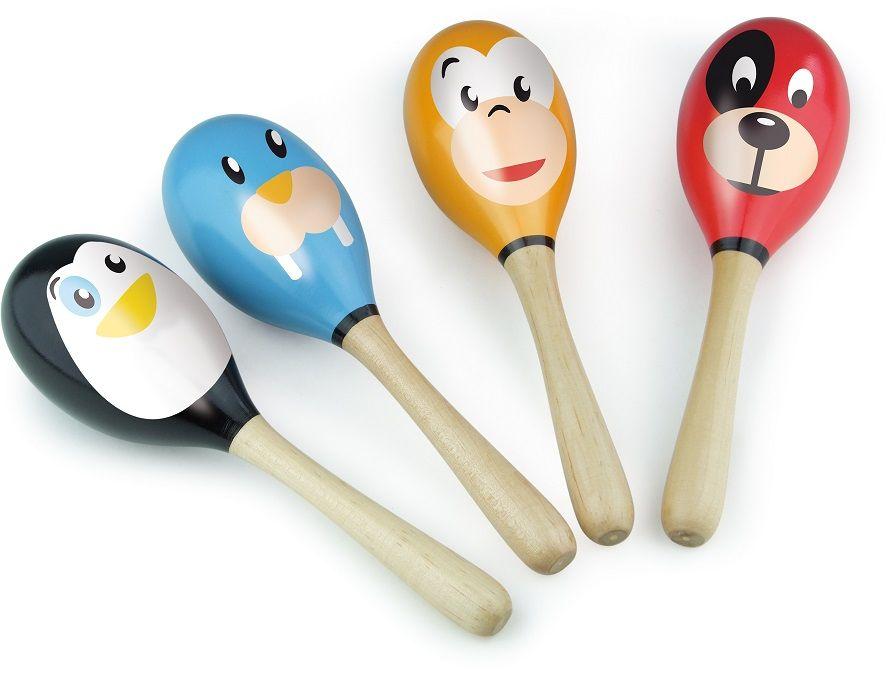 Dřevěné hračky Vilac Rumbakoule zvířátka