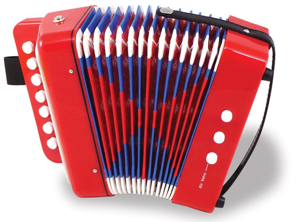Dřevěné hračky Vilac Dětský akordeon