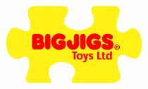 Dřevěné hračky Bigjigs dřevěná replika lokomotivy - Tornado Bigjigs Rail
