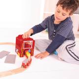 Dřevěné hračky Bigjigs Rail Seník