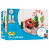 Dřevěné hračky Bigjigs Rail Vánoční jeřáb