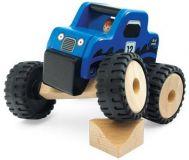 Dřevěné hračky - dřevěné auto - Dřevěný teréňák