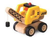 Dřevěné hračky - Dřevěný Mini Jeřáb