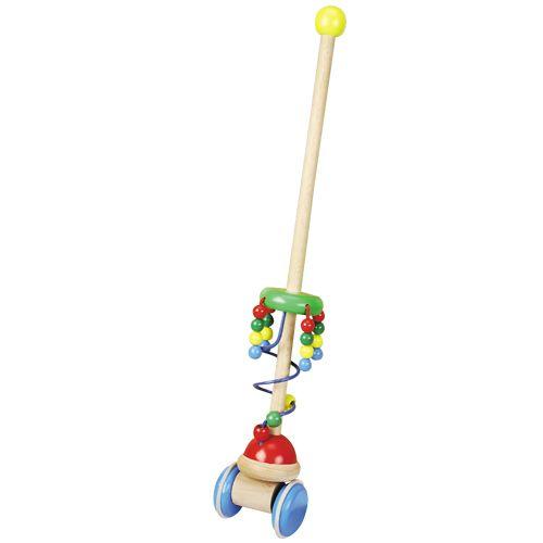 Dřevěné hračky Dřevěné hračky - Tahací hračky - Jezdík perly HJ Toys