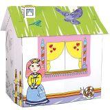 Kartonový domeček pro princeznu