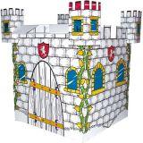 Kartonový domek - hrad