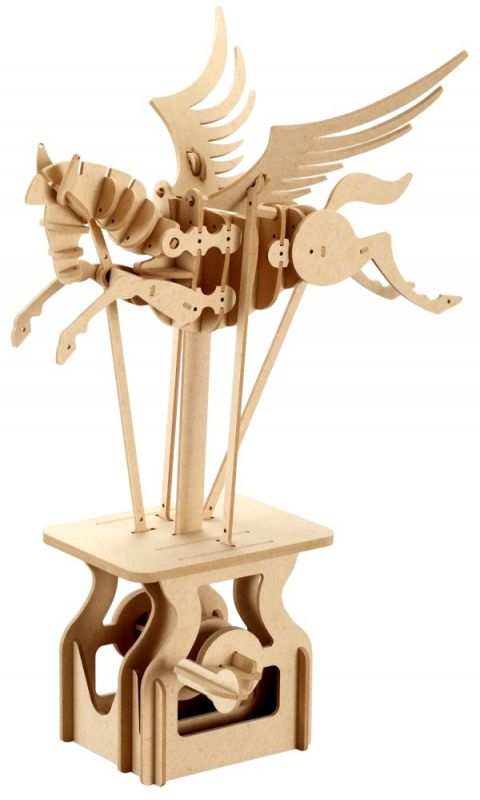 Dřevěné hračky ARToy Stavebnice pohyblivého modelu Pegasus