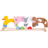 Bigjigs Toys Kroket se zvířátky farma