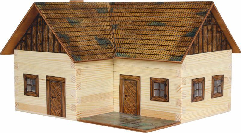 Dřevěná stavebnice Samota