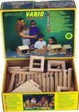 Dřevěné hračky Dřevěná stavebnice Vario 72 Walachia
