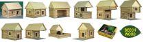 Dřevěné hračky Dřevěná stavebnice Walachia Vario 72