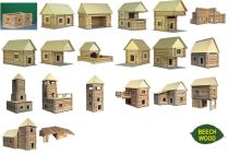 Dřevěné hračky Dřevěná stavebnice Vario XL Walachia