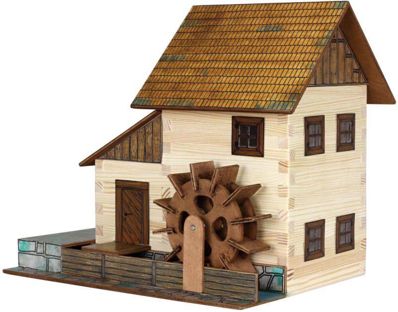 Dřevěná stavebnice Vodní mlýn