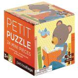 Petitcollage Puzzle medvěd čte