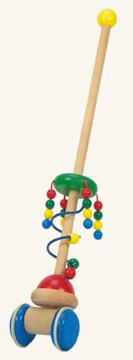 Dřevěný jezdík - perly