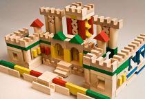 Dřevěné kostky v tubě - Dřevěné kostky 210