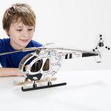 TO DO kartonová 3D skládačka Vrtulník