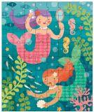 Petitcollage Puzzle v tubě - Hravé mořské panny
