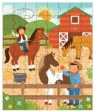 Petitcollage Puzzle v tubě - Na ranči